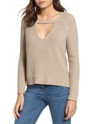 RVCA - Case Keyhole Sweater - Lyst