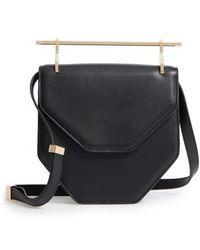 M2malletier - Amor Fati Single Calfskin Leather Shoulder Bag - Lyst