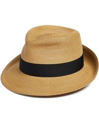 e58e807527d91 Eric Javits - Classic Squishee Packable Fedora Sun Hat - Lyst