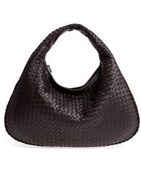 Bottega Veneta - Large Veneta Leather Hobo - Lyst