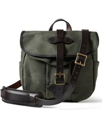 Lyst - Shinola Leather Canfield Messenger Bag in Black for Men 1082681fae
