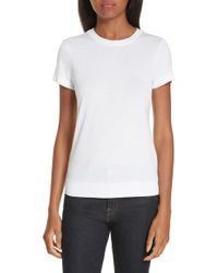 0e8bfa09fd32 Theory Dayne Tee in White - Lyst