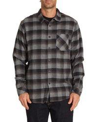 Billabong - Freemont Flannel Shirt - Lyst
