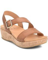 Kork-Ease - Kork-ease Minihan Wedge Sandal - Lyst