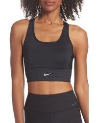 Nike - Swoosh Pocket Sports Bra - Lyst