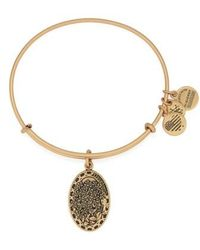 ALEX AND ANI - 'i Love You Daughter' Expandable Wire Bangle - Lyst