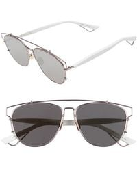 Dior - Technologic 57mm Brow Bar Sunglasses - Lyst