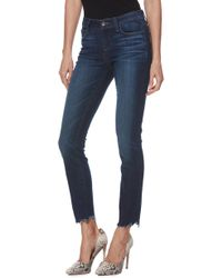 PAIGE - Verdugo Transcend Vintage Ankle Skinny Jeans - Lyst