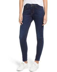 Levi's - Levi's Curvy Skinny Jeans - Lyst