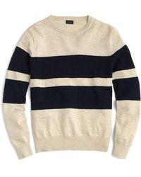 J.Crew | J.crew Slim Fit Uneven Budding Stripe Sweater | Lyst