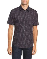 Zachary Prell - Principato Regular Fit Sport Shirt - Lyst