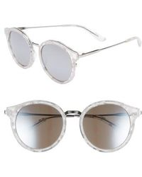 Juicy Couture - 52mm Round Sunglasses - Lyst
