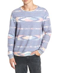 Sol Angeles - Sunset Geometric Print Pullover - Lyst