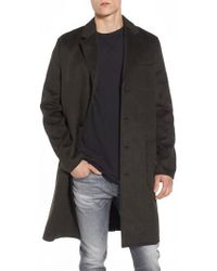 Native Youth - Basing Ragged Peacoat - Lyst