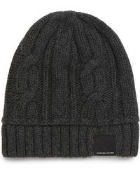 Canada Goose - Chunky Knit Beanie - Lyst 746615bbdf95