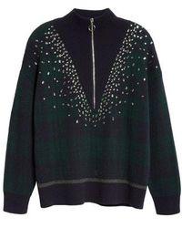 Sandro - Patience Half Zip Sweater - Lyst