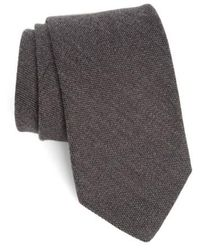 Strong Suit - Solid Melange Silk & Wool Tie - Lyst