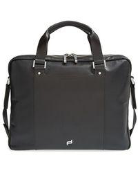 Porsche Design - 'shyrt' Leather Briefcase - Lyst