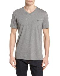 Lacoste - Pima Cotton T-shirt - Lyst