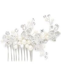 Brides & Hairpins - 'catherine' Jeweled Hair Comb - Lyst