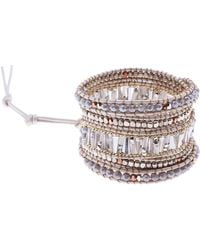 Nakamol - Beaded Wrap Bracelet - Lyst