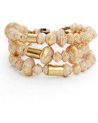 31 Bits - Juniper Strands Paper Bead Bracelet - Lyst