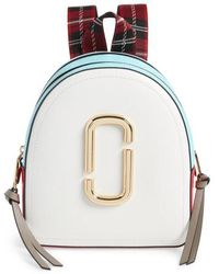 Marc Jacobs - Pack Shot Leather Backpack - Lyst