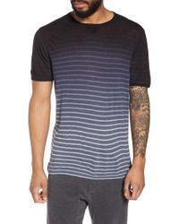 John Varvatos - Ombre Stripe T-shirt - Lyst
