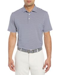 Peter Millar - Stripe Stretch Jersey Performance Polo - Lyst