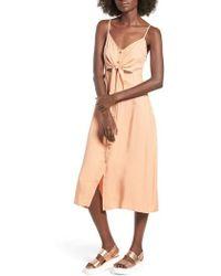 Mimi Chica - Mia Chica Midi Dress - Lyst