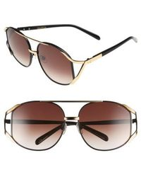 Wildfox - 'dynasty' 59mm Retro Sunglasses - Lyst