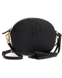 Tory Burch - Mcgraw Leather Crossbody Bag - - Lyst