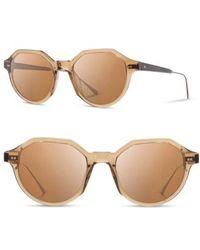 Shwood - Powell 50mm Sunglasses - Copper/ Ebony/ Brown - Lyst