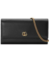 455f563e7f1f Gucci Wallets - Gucci Wristlets and Wallets for Women - Lyst