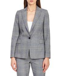 Reiss - Joss Check Plaid Suit Jacket - Lyst
