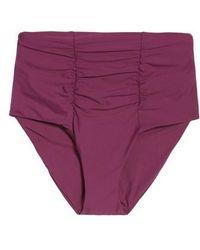 Becca - Color Code High Waist Bikini Bottoms - Lyst
