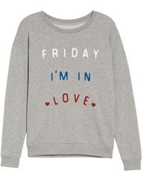 South Parade - Friday I'm In Love Sweatshirt - Lyst