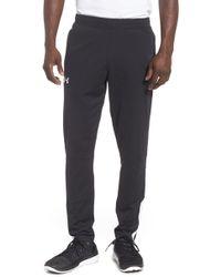 Under Armour - Sportstyle Slim Pique Track Pants - Lyst
