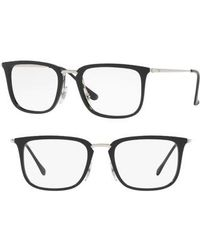 6c68875815 Lyst - Ray-Ban Eyeglasses Optical Rx 5246 2034 Top Black On ...