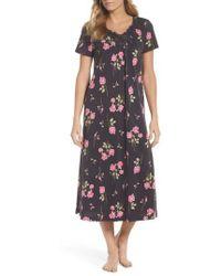 Carole Hochman | Cotton Jersey Long Nightgown | Lyst