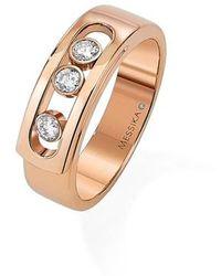 Messika - Move Noa Diamond Band Ring - Lyst