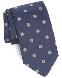 Strong Suit - Medallion Silk Tie - Lyst