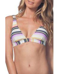 Rip Curl - Sayulita Bikini Top - Lyst