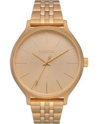 Nixon - The Clique Bracelet Watch - Lyst