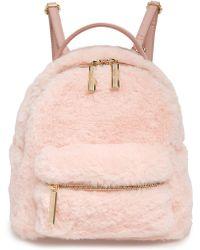 mali + lili - Mali + Lili Gemini Faux Fur & Vegan Leather Convertible Backpack - Lyst