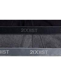 2xist - 3- Pack Contour Pouch Briefs, Grey - Lyst