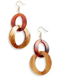 Nakamol - Resin Link Earrings - Lyst
