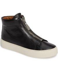 Frye - Lena Zip High Top Sneaker - Lyst