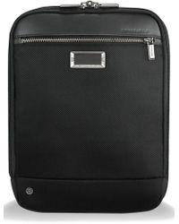 Briggs & Riley - @work Expandable Ballistic Nylon Crossbody Bag With Rfid Pocket - Lyst