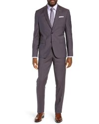 Ted Baker - Jay Trim Fit Solid Wool Suit - Lyst